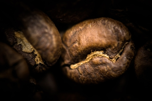 Coffee Beans. Macro - slon.pics - free stock photos and illustrations