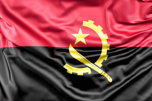 Flag of Angola - slon.pics - free stock photos and illustrations
