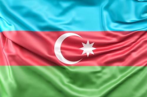 Flag of Azerbaijan - slon.pics - free stock photos and illustrations