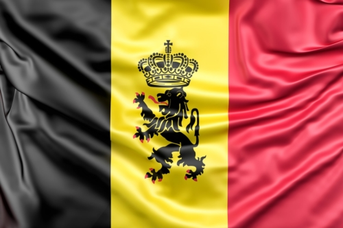 Flag of Belgium with ensign - slon.pics - free stock photos and illustrations
