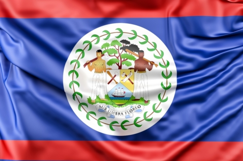 Flag of Belize - slon.pics - free stock photos and illustrations