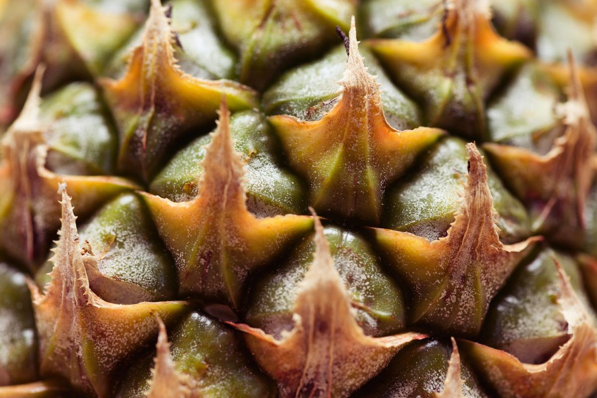 Full Frame Shot Of Pineapple - slon.pics - free stock photos and illustrations