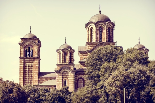 St. Mark's Church. Belgrade, Serbia - slon.pics - free stock photos and illustrations