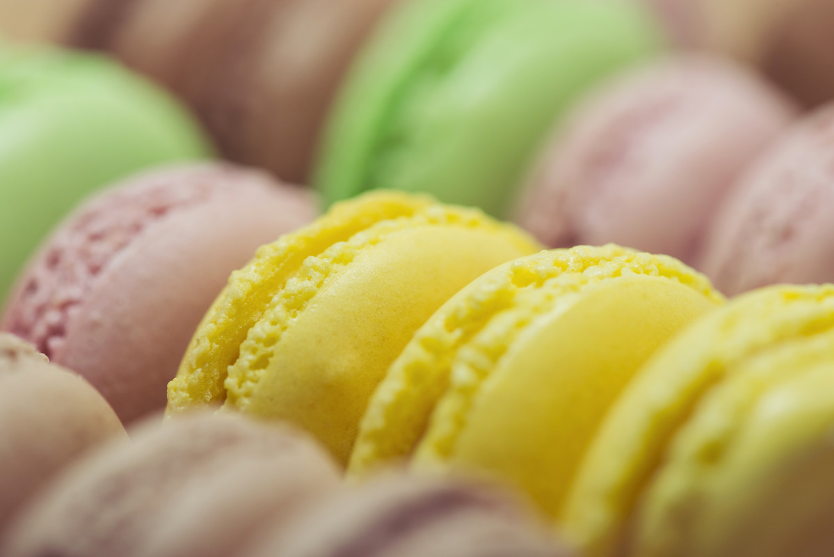 Colorful macaroons - slon.pics - free stock photos and illustrations