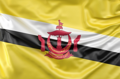 Flag of Brunei - slon.pics - free stock photos and illustrations
