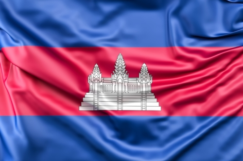 Flag of Cambodia - slon.pics - free stock photos and illustrations