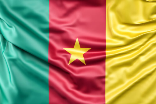 Flag of Cameroon - slon.pics - free stock photos and illustrations