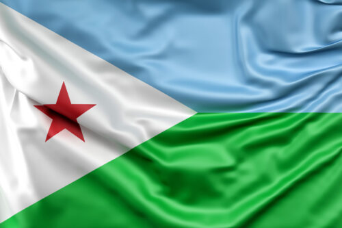 Flag of Djibouti - slon.pics - free stock photos and illustrations