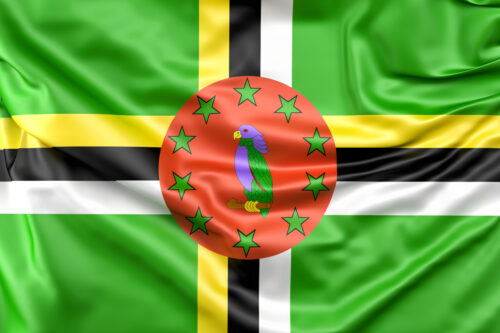 Flag of Dominica - slon.pics - free stock photos and illustrations