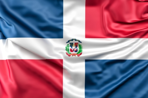 Flag of Dominican Republic - slon.pics - free stock photos and illustrations