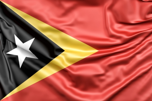 Flag of East Timor - slon.pics - free stock photos and illustrations
