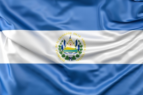 Flag of El Salvador - slon.pics - free stock photos and illustrations