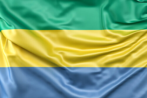 Flag of Gabon - slon.pics - free stock photos and illustrations