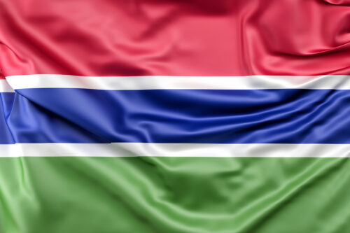 Flag of Gambia - slon.pics - free stock photos and illustrations