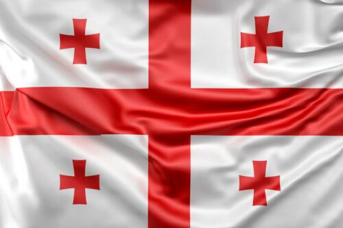 Flag of Georgia - slon.pics - free stock photos and illustrations