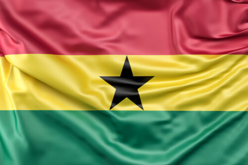 Flag of Ghana - slon.pics - free stock photos and illustrations