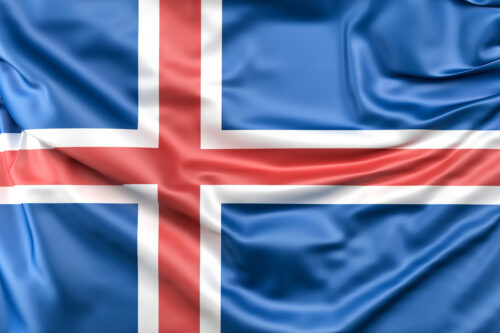 Flag of Iceland - slon.pics - free stock photos and illustrations