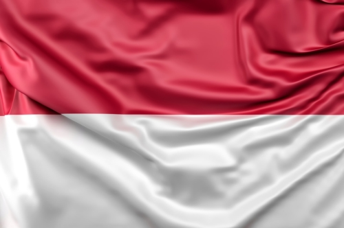 Flag of Indonesia - slon.pics - free stock photos and illustrations
