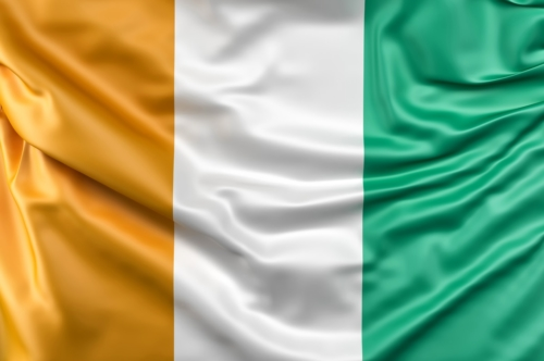 Flag of Ivory Coast - slon.pics - free stock photos and illustrations
