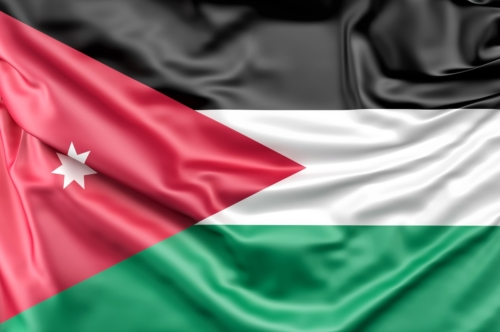 Flag of Jordan - slon.pics - free stock photos and illustrations