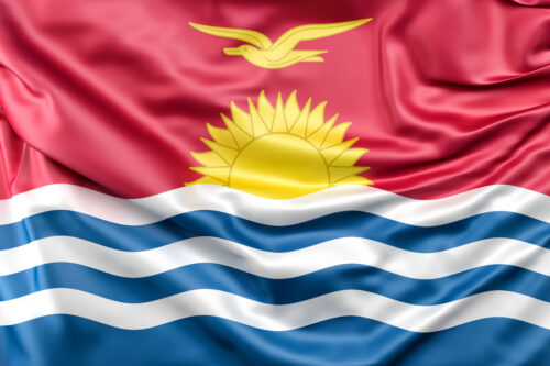 Flag of Kiribati - slon.pics - free stock photos and illustrations