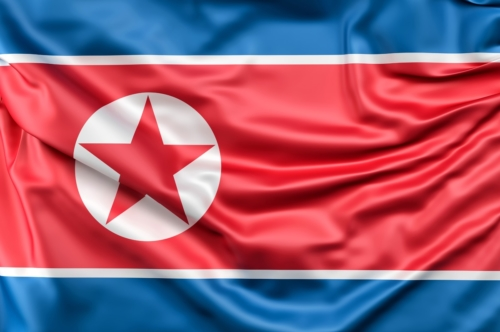 Flag of North Korea - slon.pics - free stock photos and illustrations