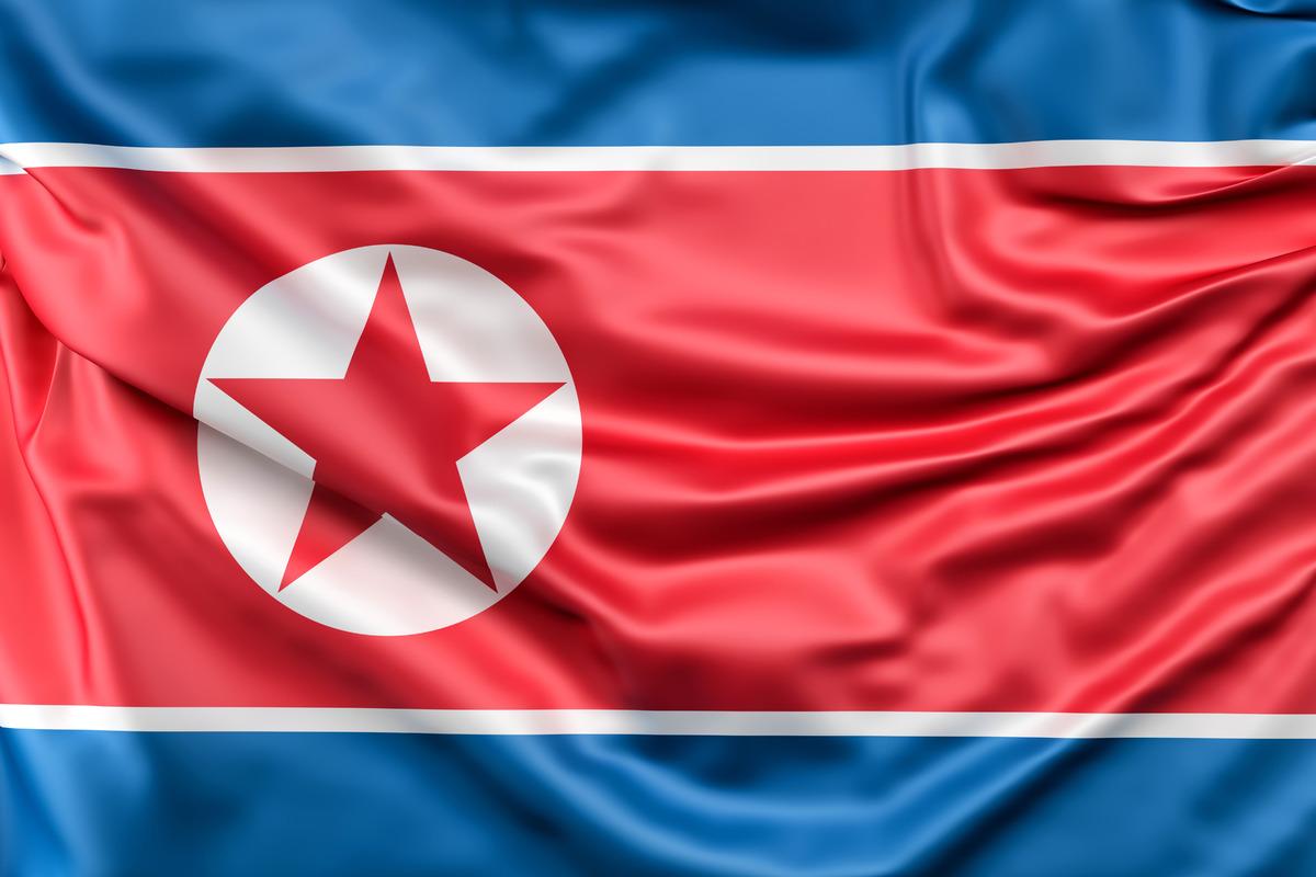 Flag of North Korea - slon.pics - free stock photos and illustrations