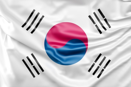 Flag of South Korea - slon.pics - free stock photos and illustrations