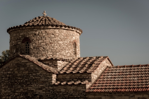 Mediterranean Church rooftop - slon.pics - free stock photos and illustrations