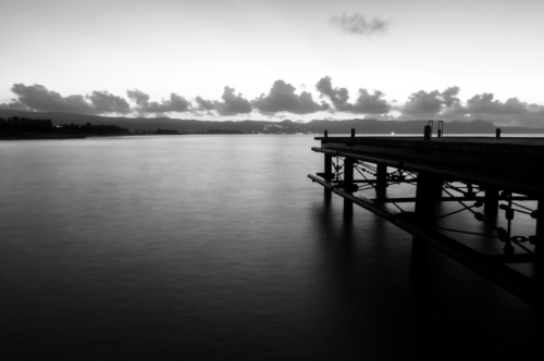 Old pier at the sea during sunset - slon.pics - free stock photos and illustrations