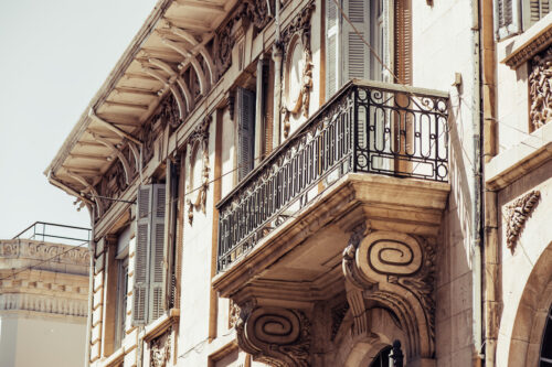 Part of British colonial building - slon.pics - free stock photos and illustrations