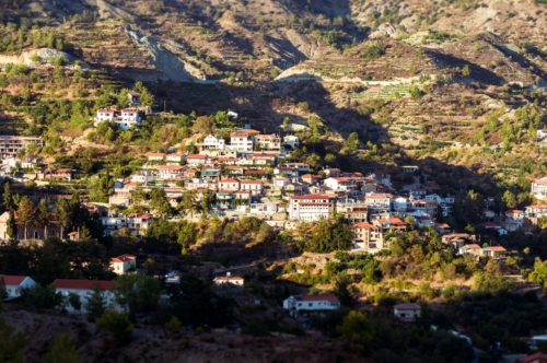 Agros, traditional mountain village. Cyprus, Limassol District - slon.pics - free stock photos and illustrations