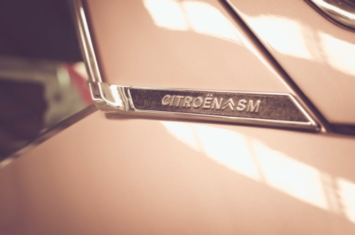 Citroën SM side emblem - slon.pics - free stock photos and illustrations