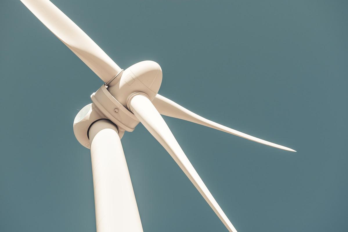 Close up of wind turbine producing alternative energy - slon.pics - free stock photos and illustrations