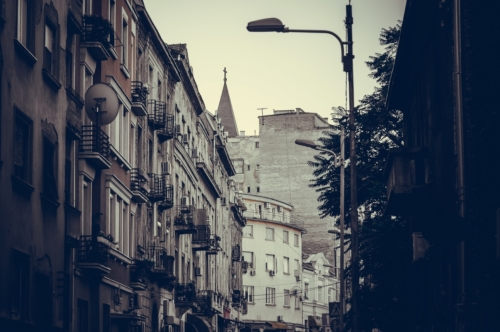 Dorde Jovanovic street. Belgrade, Serbia. - slon.pics - free stock photos and illustrations
