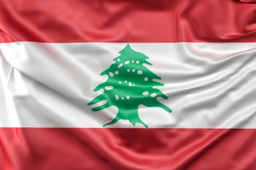 Flag of Lebanon - slon.pics - free stock photos and illustrations