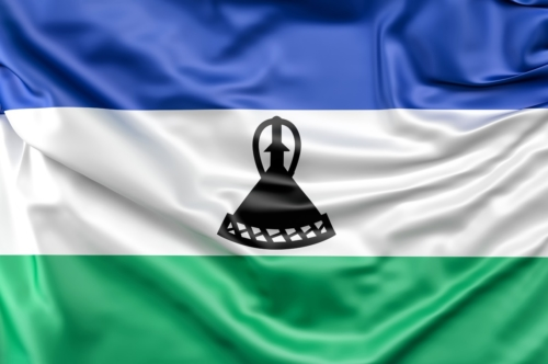 Flag of Lesotho - slon.pics - free stock photos and illustrations