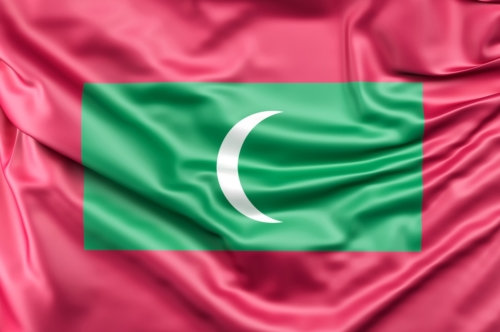 Flag of Maldives - slon.pics - free stock photos and illustrations