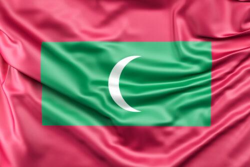 Flag of Maldives - slon.pics - free stock photos and illustrations