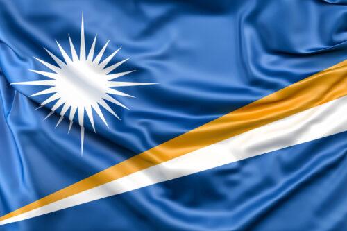 Flag of Marshall Islands - slon.pics - free stock photos and illustrations