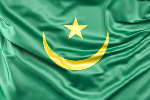 Flag of Mauritania - slon.pics - free stock photos and illustrations