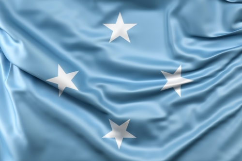 Flag of Micronesia - slon.pics - free stock photos and illustrations