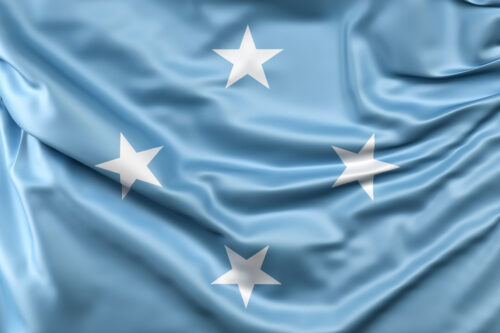 Flag of Micronesia - slon.pics - free stock photos and illustrations