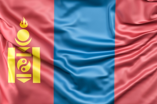 Flag of Mongolia - slon.pics - free stock photos and illustrations