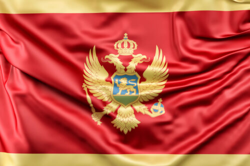 Flag of Montenegro - slon.pics - free stock photos and illustrations