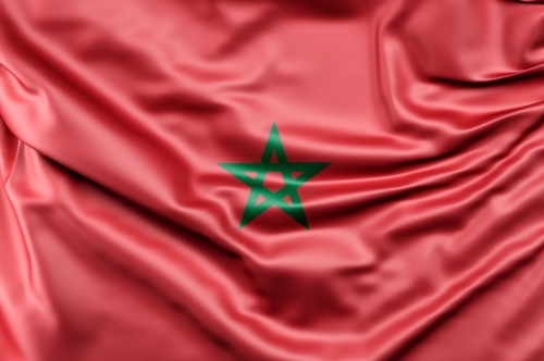 Flag of Morocco - slon.pics - free stock photos and illustrations