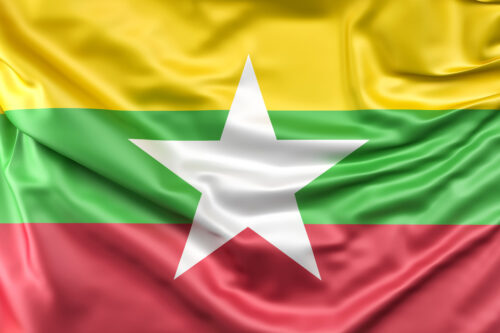 Flag of Myanmar - slon.pics - free stock photos and illustrations