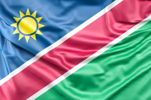 Flag of Namibia - slon.pics - free stock photos and illustrations