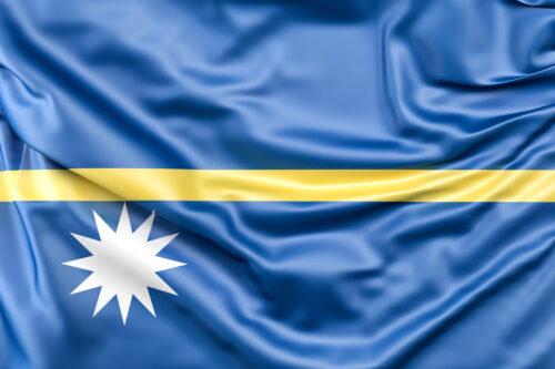 Flag of Nauru - slon.pics - free stock photos and illustrations