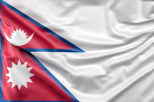Flag of Nepal - slon.pics - free stock photos and illustrations